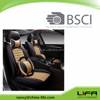 2017 new design fashion hot sale car seat cover/luxury leather seat cover/common size seat cover