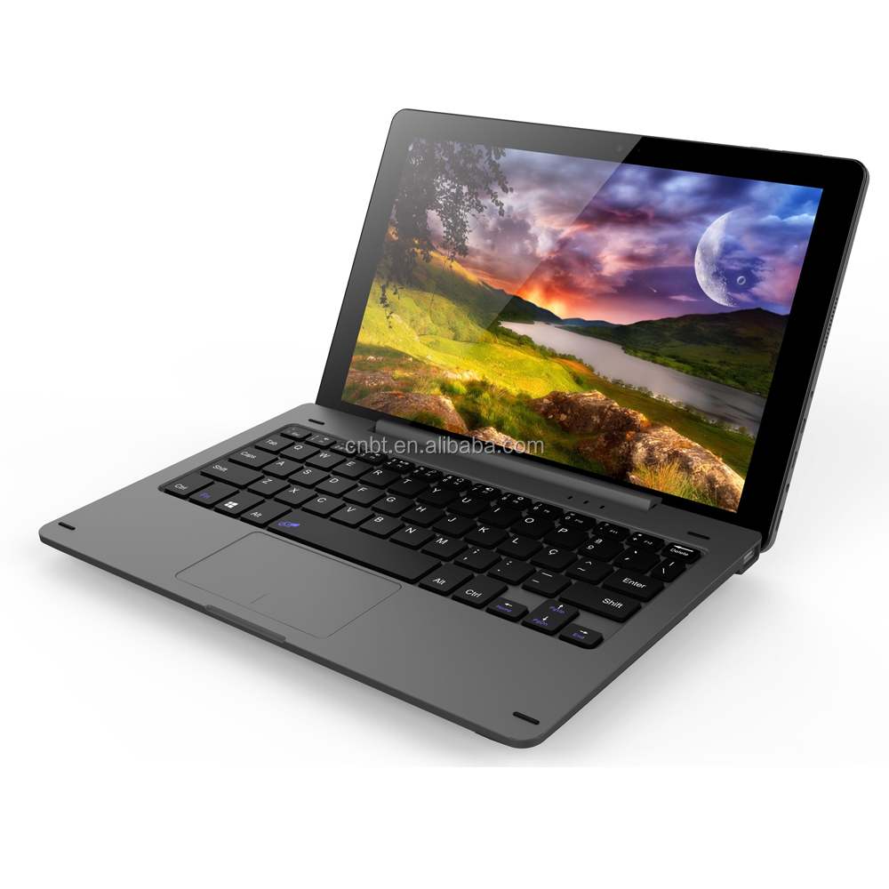 OEM ultra portable 10.1-inch laptop with detachable keyboard tablet pc