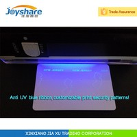 blue uv fluorescent thermal transfer barcode ribbon card printer uv ribbon zebra p330i uv ribbon blue green red yellow