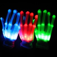 High quality led party halloween for gloves gloves led