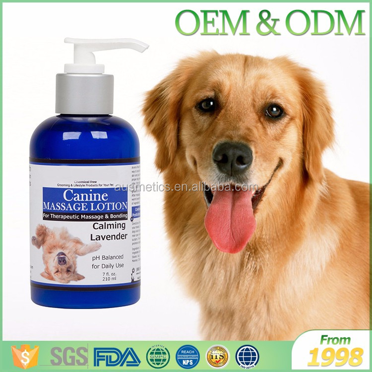 Private label natural organic pet dog shower gel wholesale dog shampoo