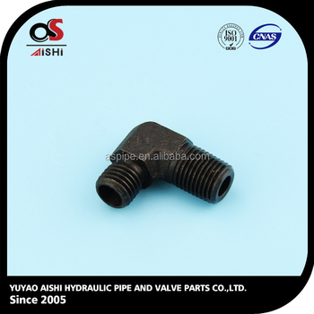 hydraulic carbon steel tube fittings.
