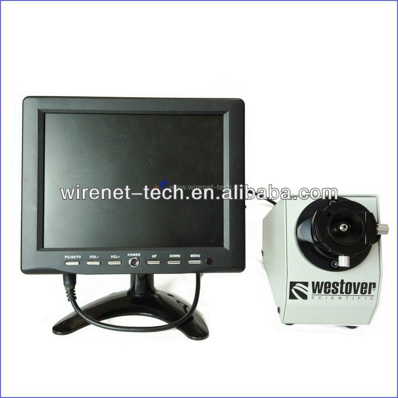 Optical Fiber Monitor : High definition optical fiber end face detector with eye