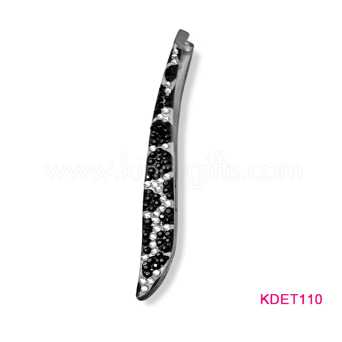 Most Popular Diamond Embellished Personalized High Class Good Plucking Eyebrow Tweezers