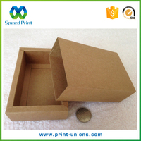 Kraft paper slide box sleeve paper soap box package paper drawer box