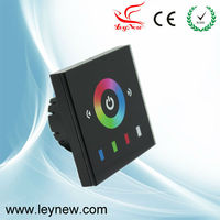 Beautiful 3 Channel RGB Europe Standard Low-voltage Touch Panel Full-color LED Driver Controller