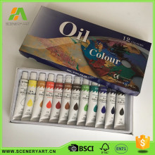 custom wooden handle deco artist oil paint price