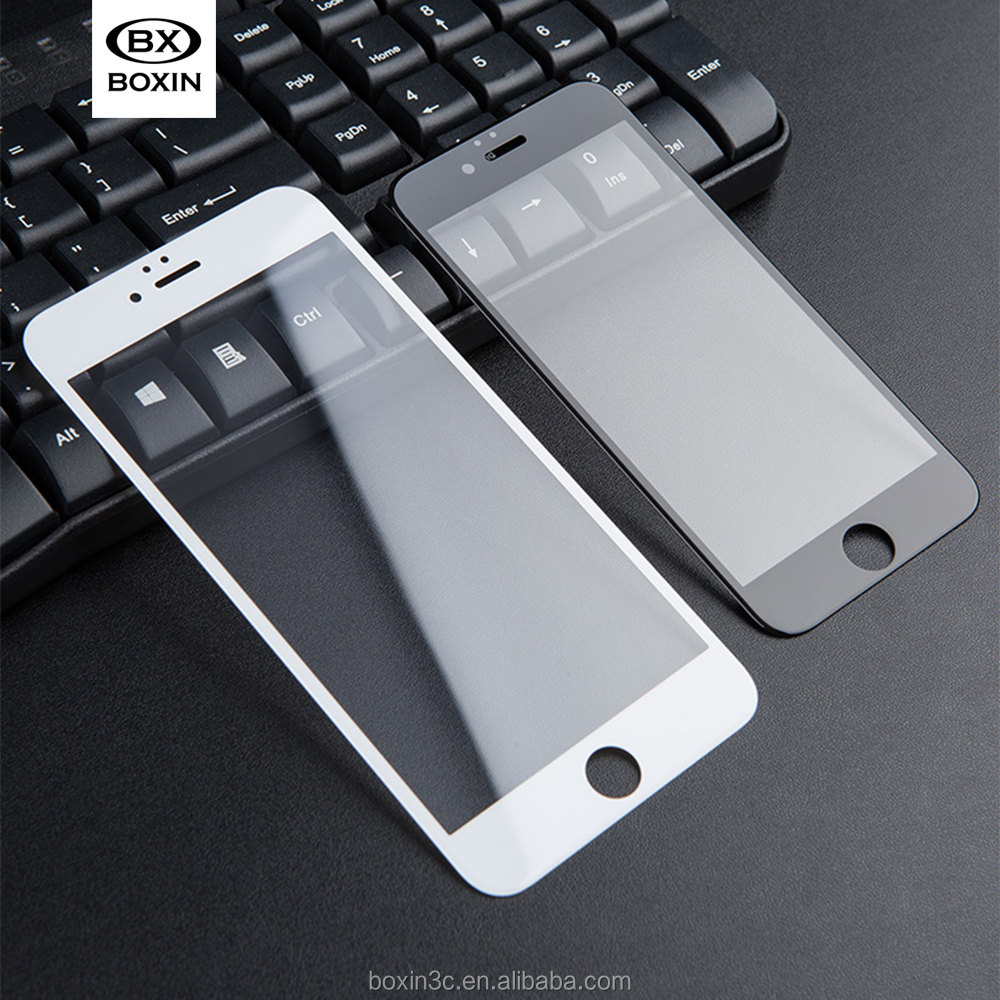 3D Arc edge Tempered Glass Screen Protector film For iPhone 6 / 6S