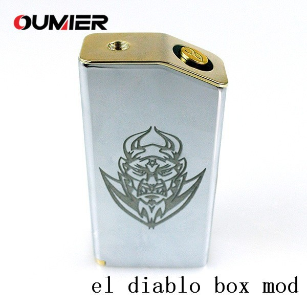 Dual Parallel 18650 new Mechanical Mod EL DIABLO Box Mod clone abaddon box mod from oumier