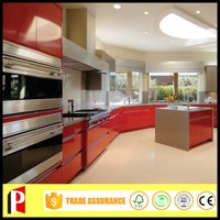 High grade plywood kitchen cabinet furniture