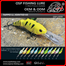 TAPPO LL JOINTED 65 Artificial wobbler Hard fishing lures OSP laser minnow fishing lure