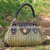2017 summer beach bag for women cheap handbag ladies elegant handbag thailand straw bag