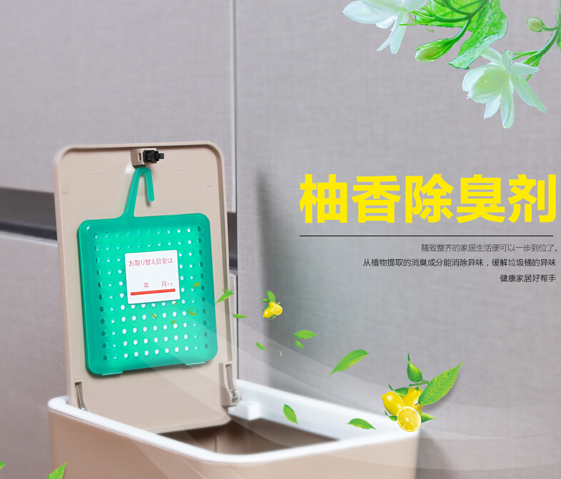 multi-functional deodorizer for fridge and trash can