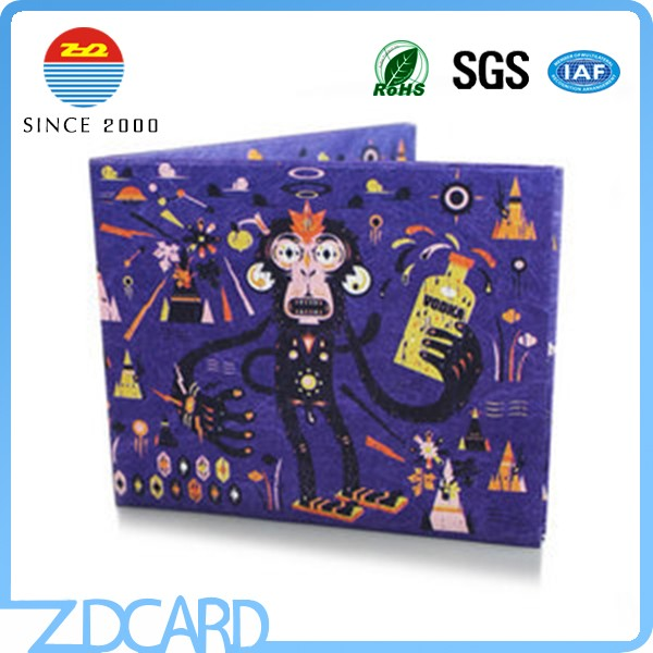 Special Paper Thin and Light Rfid Blocking Wallet