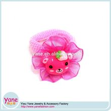 Sweet style small elastic cute hair bands for daily hair decoration