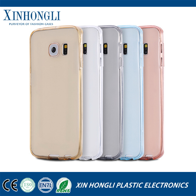 New style hot selling tpu soft case for samsung s7 edge