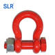 Bolt Type Alloy Bow Shackle/ G8Bow Shackle