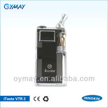 2013 new innovative products electronic cigarette itaste VTR