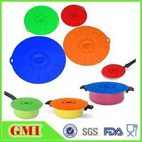 Silicone Cookware Parts universal pan pot suction lid food covers pan lids