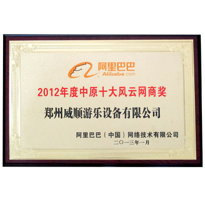 China Top 10 Golden Supplier on Alibaba