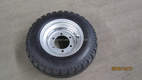 Truck trailer European style tyre in trailer parts