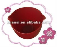 flexibility !!! multi- functional red silicone mixing bowl (Dongguan)