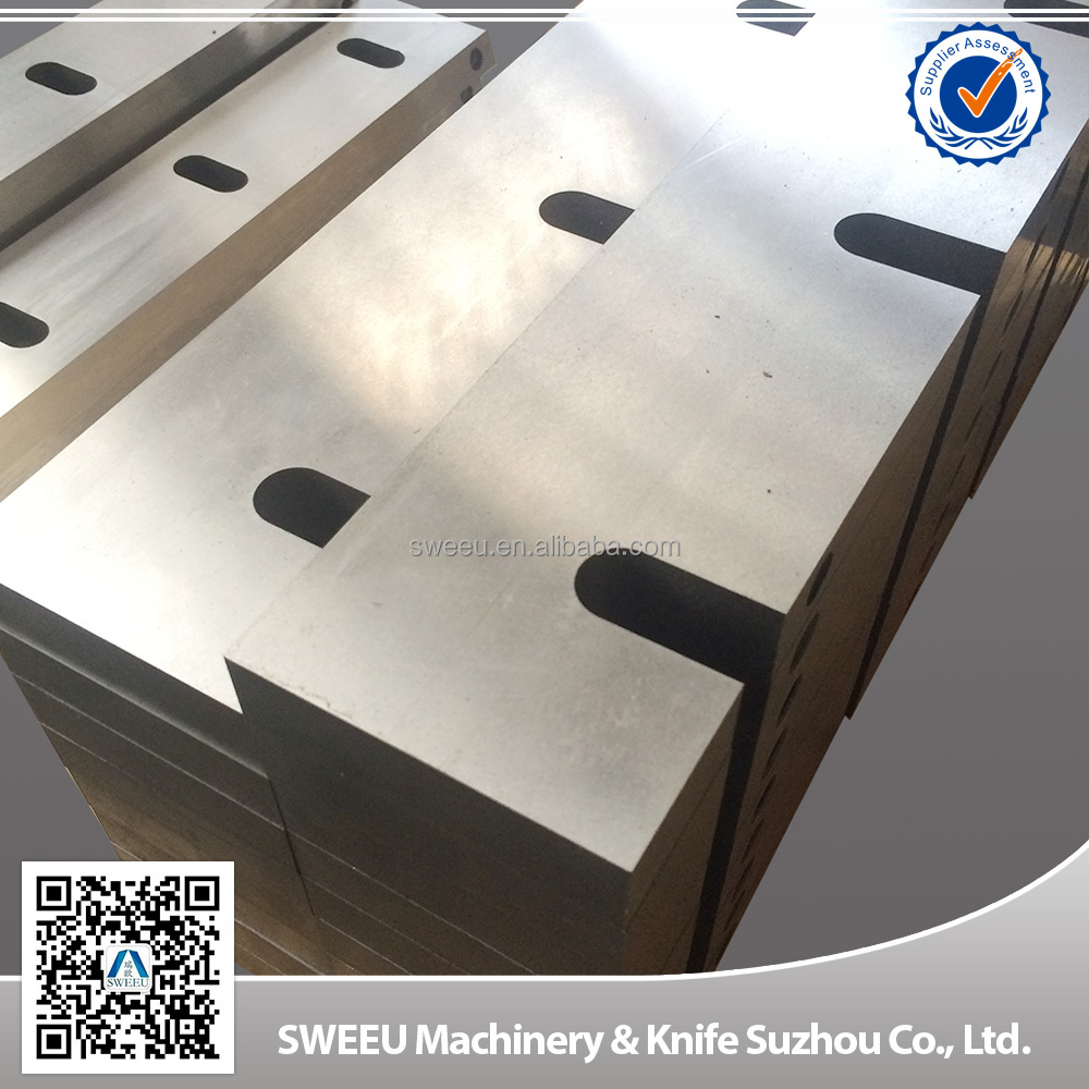 China long lifespan crusher cutter blades/knives