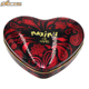 Heart shaped chocolate box elegant packaging cake tins wedding candy boxes