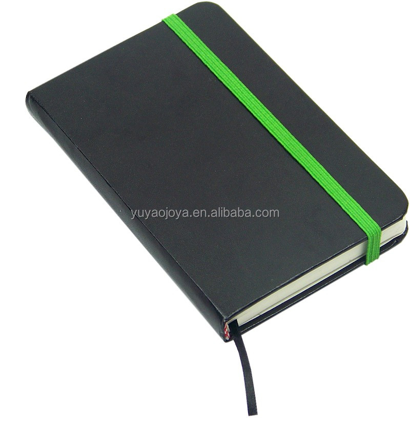 personalized PU leather cover pocket agenda notebooks pu notebook