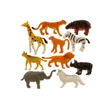 ICTI Certificated Hard PVC Jungle Animals Plastic Toys