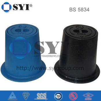 BS 5834 Round Valve Box With Bolts