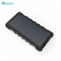 QC3.0 IP66 Waterproof Type-C solar charger power bank 24000mah for blackberry