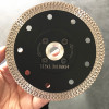hot/cold press diamond saw blade with M14 flange sintered turbo cutting diamond tile disc