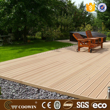 Superior outdoor composite laminate decking floor
