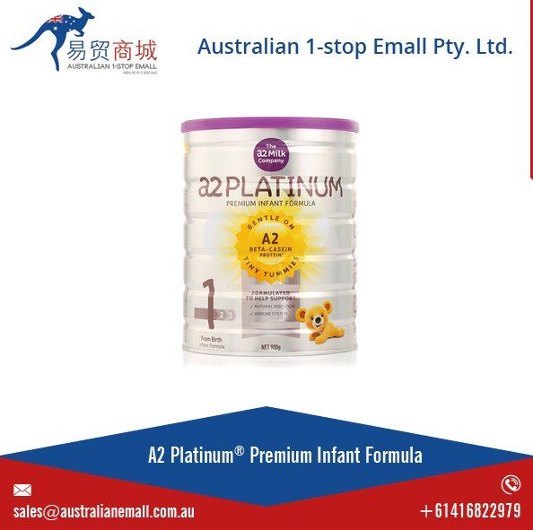 a2 Baby Formula 900g Australian Made Premium Infant Milk Powder