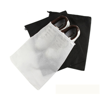 Promotional sports shoe dust bag custom printed,waterproof non woven drawstring shoe bag