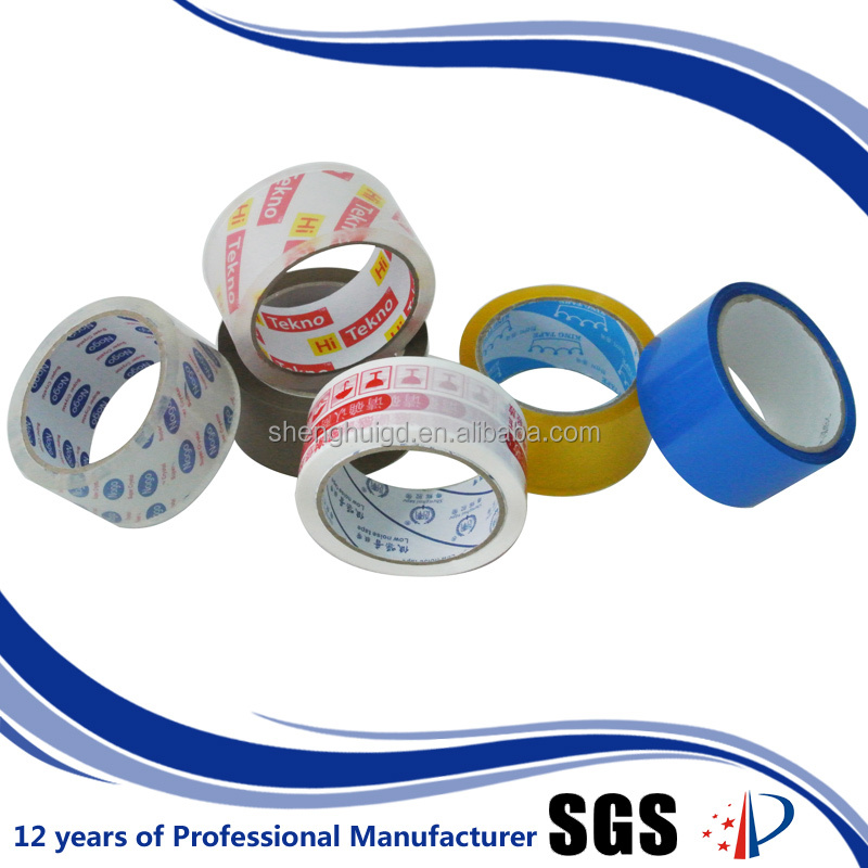 company logo printed water proof plastic adhesive tape