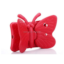 Kids Gifts Butterfly Safty EVA Armor Foam Handle Shockproof Tablet Case Cover For iPad 2017