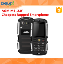 "New Arrival AGM M1 2.0"" Rugged Mobile Phone2570mAh Big Battery 128MB+64MB Water Dust Shock Proof"