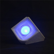 Customized color bluetooth speaker with led light/mini music bluetooth speaker