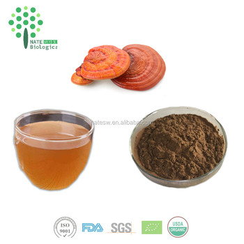 GMP and Organic duanwood extract ganoderma bulk powder