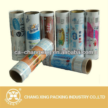 printing packaging film for yogurt milk packing