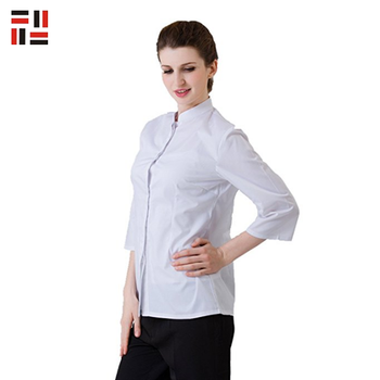 Anti-shrink Custom Design Hotel Housekeeping Cleaning Staff Uniform