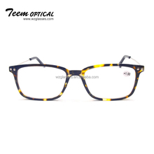 2018 CE New style design optics cheap plastic frame compact reading glasses