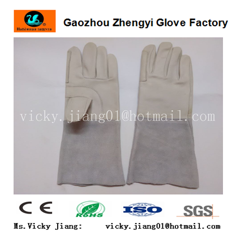 sheepskin leather welding glove