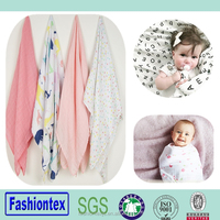 baby wholesale reusable gauze muslin blanket
