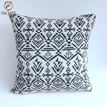 wholesale Grey sublimation indian moroccan kilim dining chairs sofa cushion covers