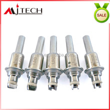 2014 new product bottom dual coil no burning dual coil clearomizer wick wire for e cig 5s atomizer coil