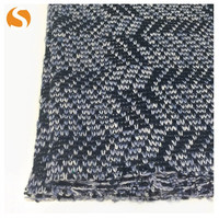 100% Polyester jacquard hacci knitting fabric textile for sweater