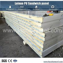 fireproof manfacture containers house polyurethane insulated wall sandwich panel price